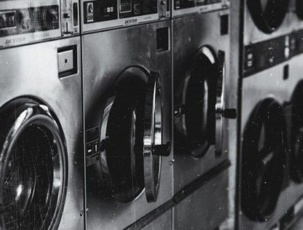 ร้านซักผ้าม่าน พระราม 2 ภาพเครื่องซักผ้า